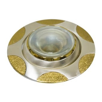 Матовое серебро - Золото