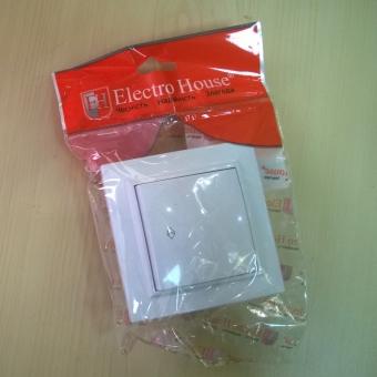 EH-2258  Выключатель 1-кл. перекидной(крест.)