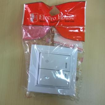 EH-2881  Выкл. 2-кл. лесничный с подсв ENZO