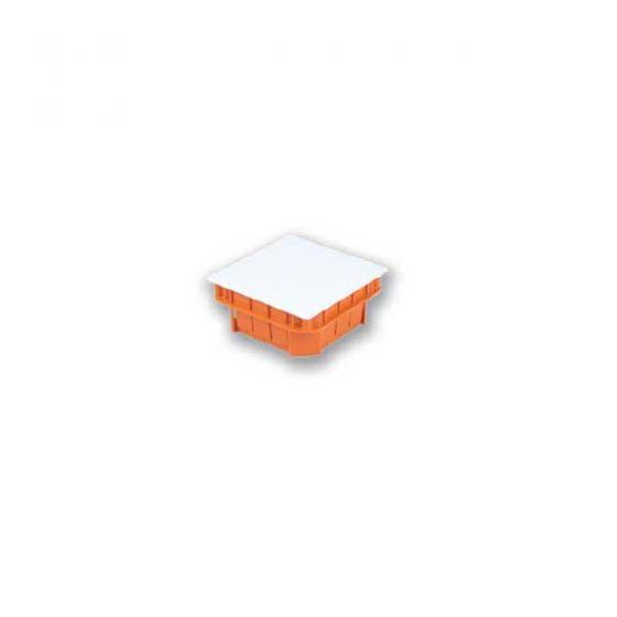 ARS (340670) 160x160x65 кор. внутр., белая с красн.