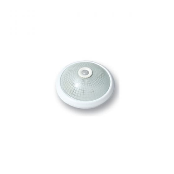 ARS (341326) плаф. с сенс. кругл., 2*E27, 40W бел.