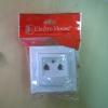 EH-2883  Розетка 2-ая TF (телефон) ENZO