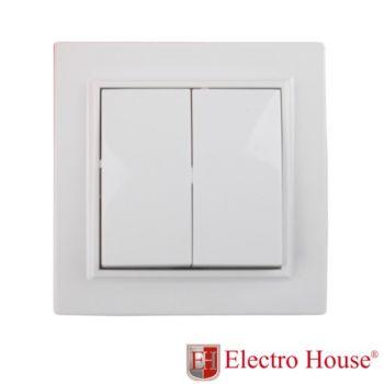 EH-2102  Выкл. 2-кл. ENZO
